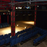Ampio palco e platea laterale (Teatro Lo Spazio, Roma)